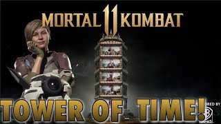 Mortal Kombat 11 Towers of Time Gameplay W/ Cassie Cage
