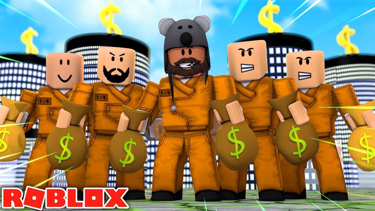 World S Biggest Bank Robbery Jailbreak Roblox Youtube
