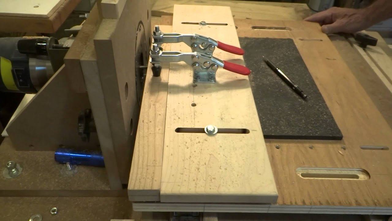 Watch on Horizontal Router Table Plans