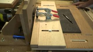 Horizontal Router Table Mortise Side Rails