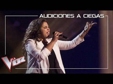 Mar Valdés canta 'It's a man's man's man's world' | Audiciones a ciegas | La Voz Antena 3 2019