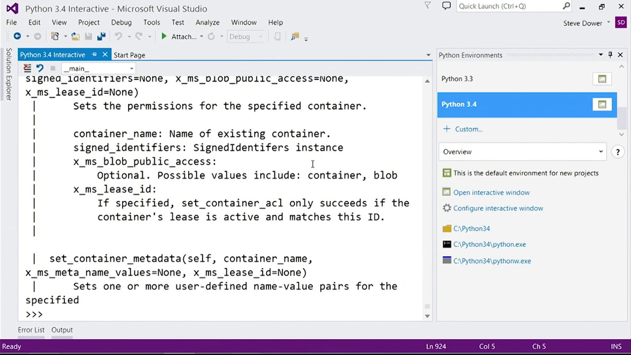 interactive python tutorial