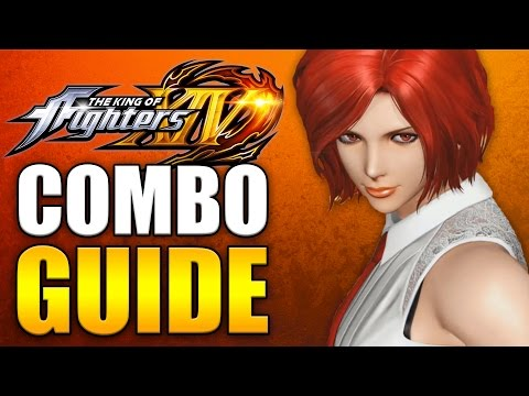 KOF14  VANESSA COMBO GUIDE  Easy to Advanced HD 60fps