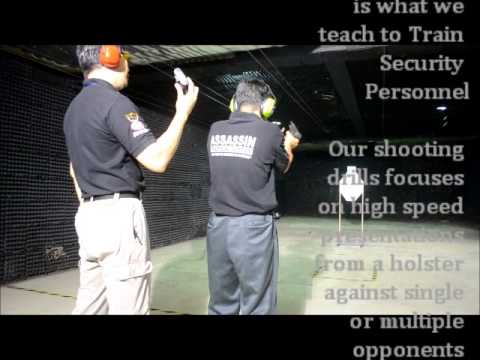 TACTICAL PISTOL TRAINING FOR SECURITY PERSONNEL  @ TOP GUN SHOOTING RANGE
