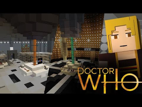 TARDIS CONSOLES IN MINECRAFT | Doctor Who Map PART 1