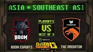 BOOM vs TNC Game 1 - Monster Energy Dota Summit 13 Online SEA: Losers' Round 3