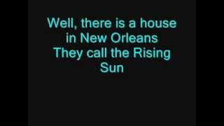 The Animals - House Of The Rising Sun (LYRICS) thumbnail