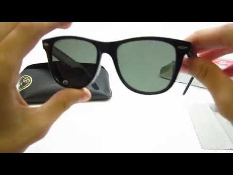 rb2140 50 original wayfarer zdmo  Authentic Ray-Ban RB 2140 Original Wayfarer Unboxing
