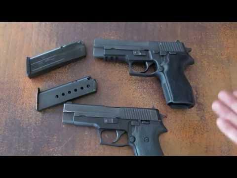 Sig Sauer P220 and P227 Comparison