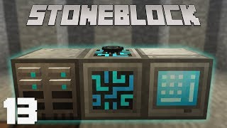 StoneBlock #13 - Хранилище ресурсов | Выживание в Маинкрафт с модами