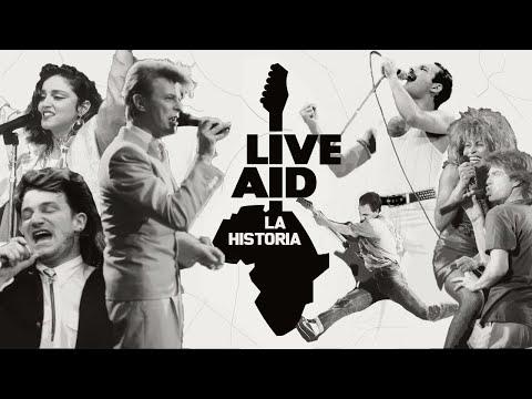 LA HISTORIA DE LIVE AID (1985)   CONCIERTO HISTÓRICO