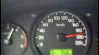 Hyundai Grand Starex CRDI VGT 2.5 Top Speed 209 kph
