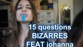 ✿Tag ✿ 15 questions bizarres ✿ Thumbnail