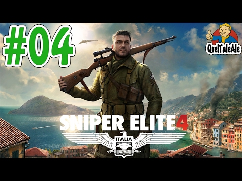 Sniper Elite 4 - Gameplay ITA - Walkthrough #04 - Cantiere n