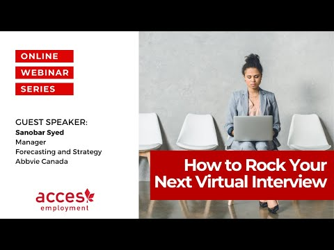 How to Rock your next Virtual Interview