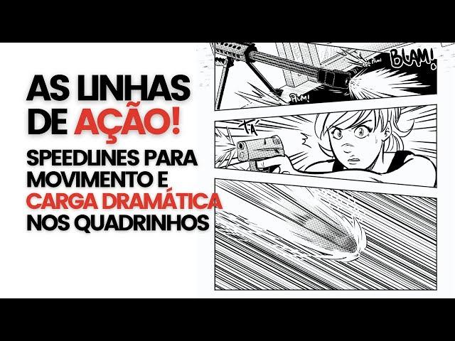 Speedlines: as linhas de ação nos quadrinhos