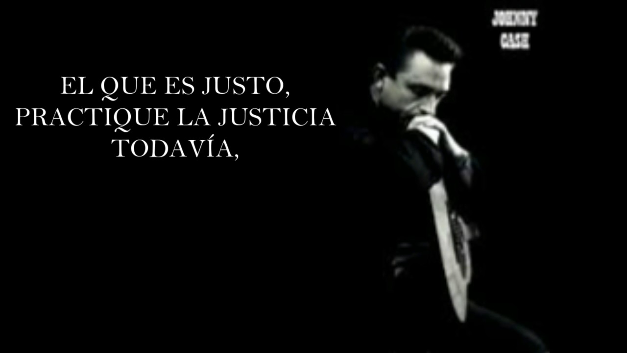 Johnny Cash The Man Comes Around Subtitulada Español