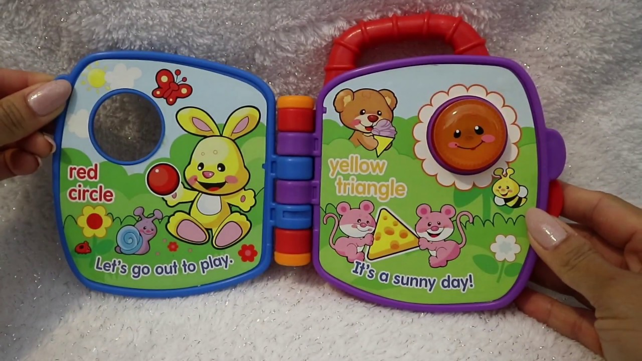 2008 Teddy S Shapes And Colours Learning Book Fisher Price S Toys