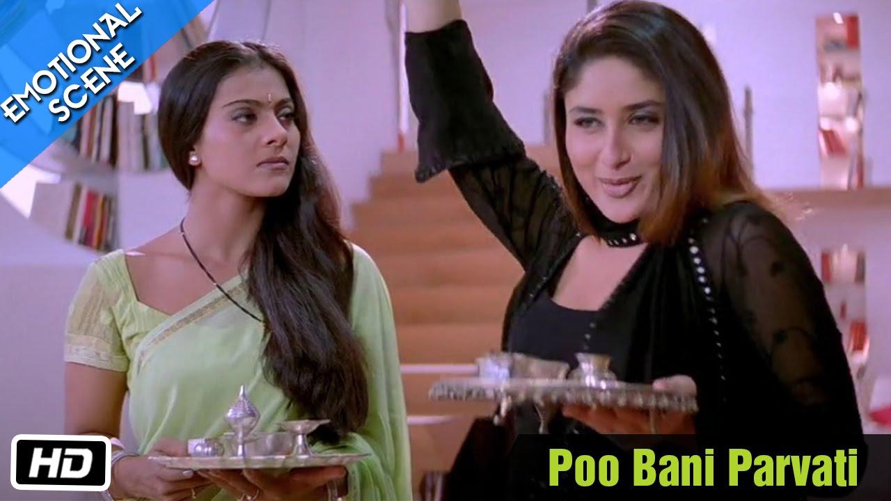 Download Poo Bani Parvati - Emotional Scene - Kabhi Khushi Kabhie Gham - Kajol, Shahrukh Khan