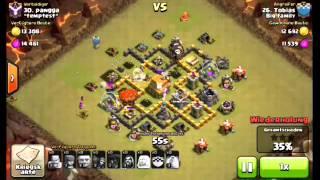 Clash of Clans Clankriegangriff