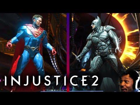 WHO SHOULD WE CHOOSE!? SUPERMAN OR BATMAN?! | Injustice 2 #12