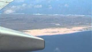 Anflug und Landung auf Fuerteventura