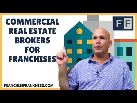Commercial Real Estate Brokers for Franchises