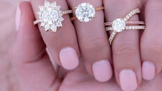 ENGAGEMENT RINGS BY HAYLEY PAIGE FOR HEARTS ON FIRE!