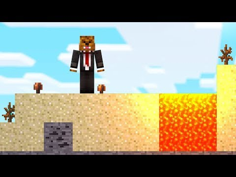 SURVIVING ON A 2D MINECRAFT ISLAND! HOW???