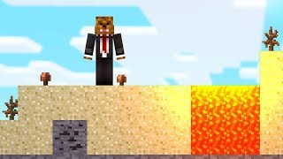 SURVIVING ON A 2D MINECRAFT ISLAND! HOW??? | JeromeASF