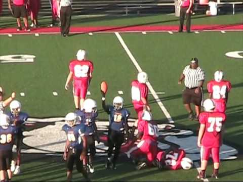 Hazelwood Middle School vs Parkview 9/20/2016
