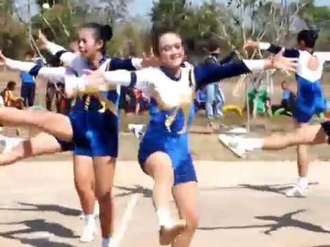 เต้นแอโรบิค  นักเรียน