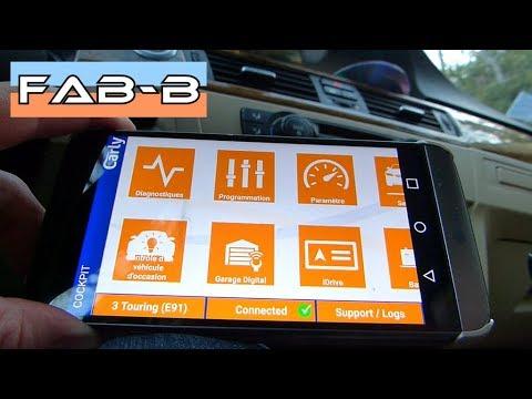 Test de l'adaptateur OBD2 Carly et l'application PRO 1/2