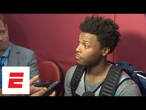 Kyle Lowry refuses to answer questions about DeMar DeRozan trade | ESPN