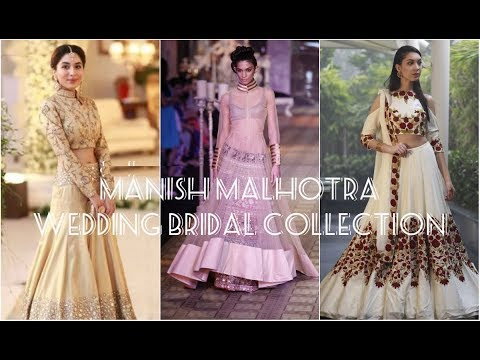 Manish Malhotra Lehengas 2018 Bridal Collection Designs for Bride ...