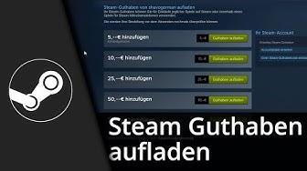 Steam Tutorial | Steam-Guthaben aufladen / Geld einzahlen [Deutsch/HD]
