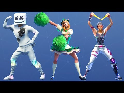 Fortnite All Dances Season 1-7 Updated to Cheer Up