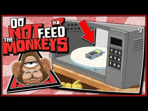Kid Microwaves Cell Phone! Evil Run  Do Not Feed The Monkeys Gameplay EP 3