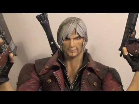 Devil May Cry 4 Play Arts Kai Dante Video Game Figure Review