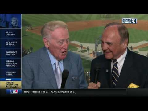 A conversation with broadcasting legends Vin Scully and Dick Enberg
