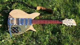 John Lennon Rickenbacker 325V59 Build in 10 Days