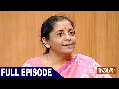 Nirmala Sitharaman in Aap Ki Adalat (FULL)