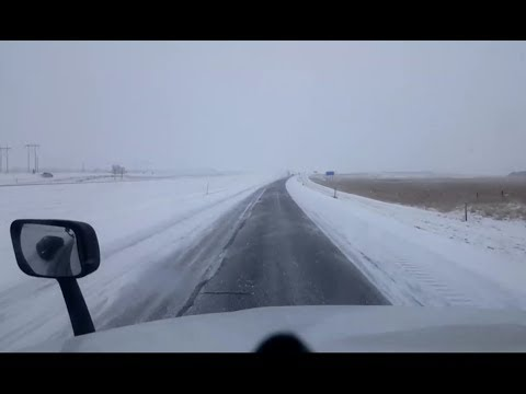 BigRigTravels LIVE! Christmas Day Special - Snowy Wyoming Sidney, NE to Laramie, WY I-80 West