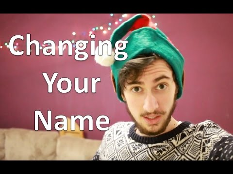 FTM Transgender: Changing Your Name