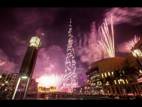 Download Downtown Dubai 2018 New Year's Eve Highlights Video