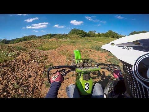 Kawasaki Race Moped + Honda CBR 125 | OFFROAD