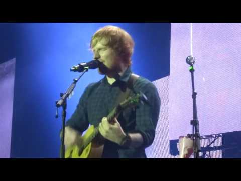 Ed Sheeran - Don't/Nina mashup - 24th Birthday Show @ Saku Suurhall, Tallinn 17/02/15