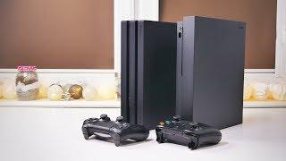 XBOX ONE X VS. PS4 PRO - WRAŻENIA Z UŻYWANIA