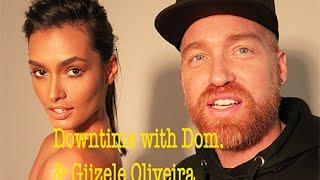 Downtime with Dom. & Brasilian Stunner Giizele Oliveira