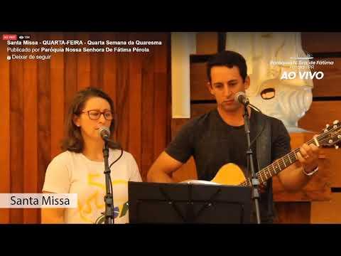 Santa Missa 25/03 - Quarta-Feira -